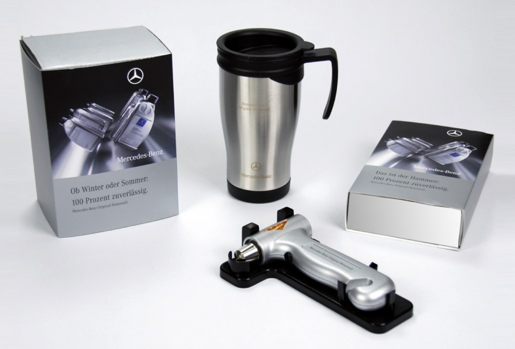 Mercedes benzgifts giveaways zoneblau for Mercedes benz gifts